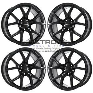 20 Jeep Grand Cherokee Gloss Black Exchange Wheels Rims Factory Oem 9173 201
