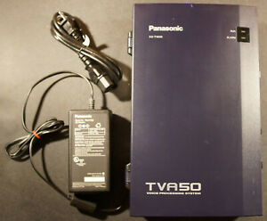Panasonic Kx tva50 Voice Mail Voice Processing System With Power Supply