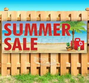 Summer Sale Advertising Vinyl Banner Flag Sign Many Sizes Available Usa Deals