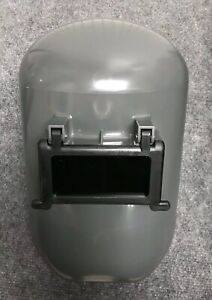 Fibre metal Protective Welding Helmet Shell Gray Lift Front 5906gy New