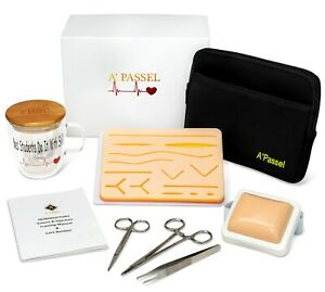 Suture Practice Kit Injection Suturing Pad Boxed Medical Nursing Students Gift