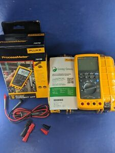 New Fluke 787b Processmeter Original Box Case Accessories See Details