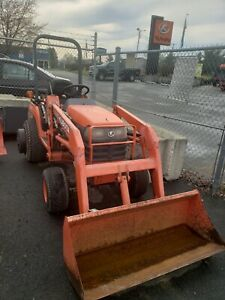 Kubota Bx1800 4x4 With Loader