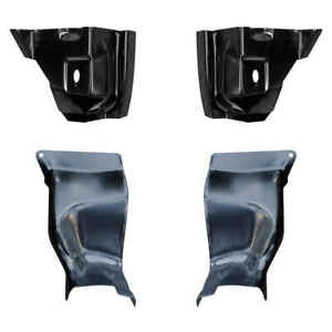 Front Inner Outer Pillar Pocket Kit For 55 59 Chevy Gmc Ck Pickup