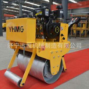 New Walk behind Mini Roller Vibration Compaction Household Excavator