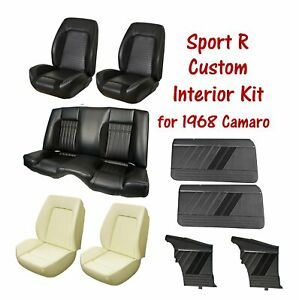 Custom Sport R Package For 1968 Camaro Upholstery Seat Foam And Door Panels
