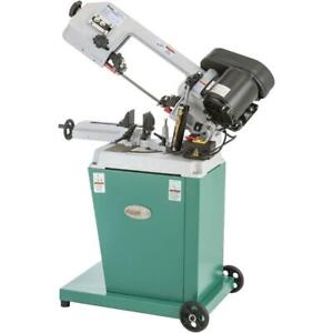 Grizzly G9742 110v 5 Inch X 6 1 2 Inch Hp Metal cutting Bandsaw With Swivel Head