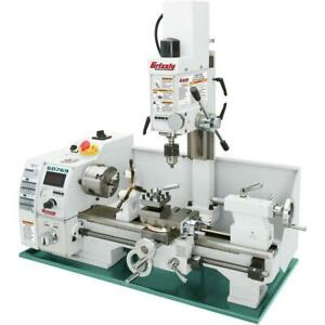 Grizzly G0769 110v 8 Inch X 16 Inch Lathe With Milling Head