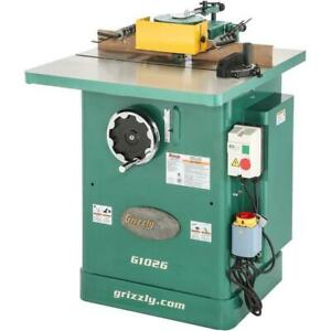 Grizzly G1026 240v 3 Hp Shaper