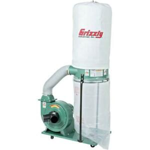 Grizzly G1028z2 120v 240v 1 1 2 Hp Dust Collector