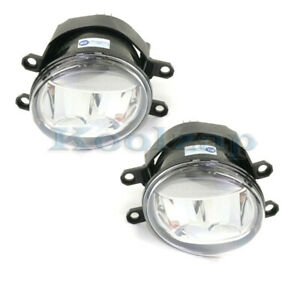 For 14 19 Rx350 rx350l rx450h Front Led Driving Fog Light Lamp W bulb Set Pair