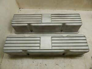 Ridge Runner Valve Covers Tunnel Ram Extremely Rare Sbc