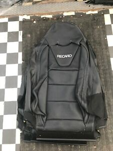 New Recaro Leather Seat Back Cover