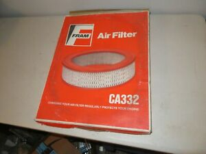 Nos Fram Mopar Six Pack Hemi N96 Air Cleaner Filter Element 440 340 426