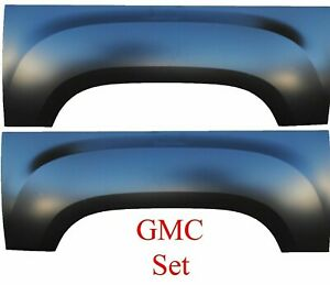 Upper Wheel Arch Quarter Panel For 6 And 8 Bed For 07 13 Gmc Sierra Pair