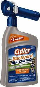 Cutter Backyard Bug Control Spray Concentrate 32 ounce 6 pack