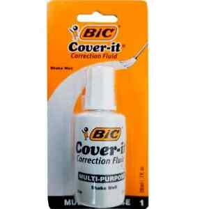 Bic Wite out Brand Quick Dry Correction Fluid 20 Ml White 1 count