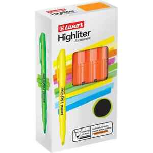 12 Pack Fluorescent Highlighters