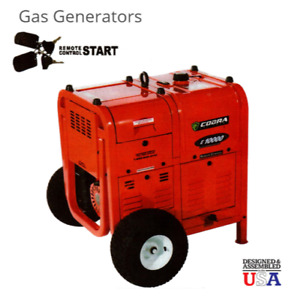 Cobra E10 000 Portable Generator Gas With 24 Hr Run Time And Remote Start