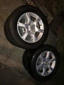 Nissan Rims And New Tires With Lugnuts Included Size 16 Full Set Of 4