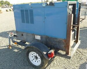 2011 Miller Big Blue 500 Deutz Diesel Welder Trailer Leads Ship Options Must Go
