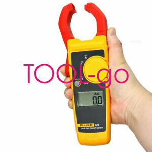 Fit For Fluke 323 Digital Clamp Meter Multimeter Ac dc Voltage Rms Amp True Test