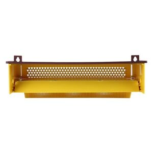 Removable Plastic Pollen Collector Trap W Ventilated Pollen Tray For Beekeeping