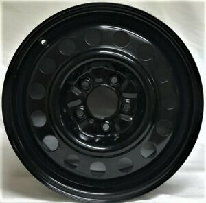 16 Inch 5 On 115 Black Steel Wheel Fits Malibu Impala Equinox Volt We3408t