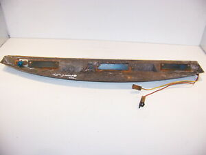 1970 Plymouth Gran Fury Instrument Cluster Light Panel