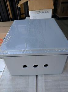 14 x12 x6 Ip68 Junction Project Pull Box With Aluminum Plate