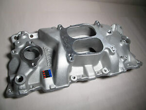 Edelbrock 2101 Sbc Performer Intake Manifold For Small Block Chevy