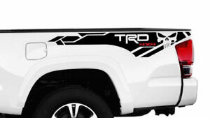 2x Toyota Tacoma Trd Pro 4x4 Punisher 2016 2020 Side Vinyl Decals Stickers