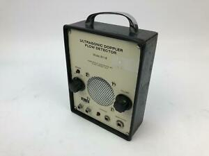 Ultrasonic Doppler Flow Detector Model 811 b