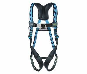 Miller Aircore Full Body Rescue Harness S m Front back D rings Acf tbsmb
