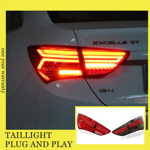 For Buick Excelle Xt Led Taillights Assembly 2015 2017 Dark Red Led Rear Lamps