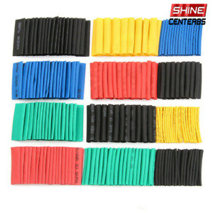328pcs 2 1 Polyolefin Heat Shrink Tube Set Sleeve Wrap Tubing Wire Assortment