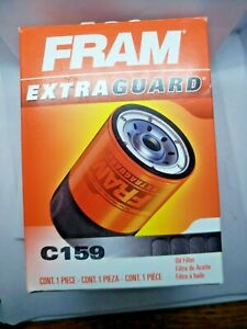 Fram C159 Oil Filter Oring Replacement Bypass Type 2 3 4 In 4 Thread Nib