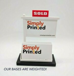 Lot Of 4 Real Estate Business Card Holders realtor Business Card Display blk