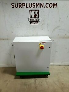 Hoffman Rolling Electrical Cabinet W 30 A Disconnect Switch Csd303012lg 30x30x12