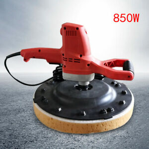 Concrete Cement Mortar Electric Trowel Wall Smoothing Polishing Machine 110v