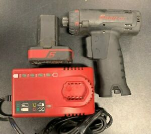 Snap On Cts761bk 14 4v 1 4 Hex Cordless Screwdriver Drill W Battery N Charger