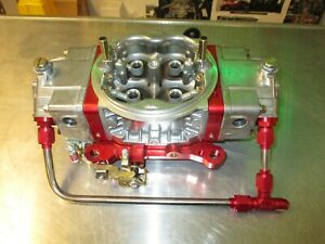 Holley 950cfm Ultra Xp Carburetor 0 80805rdx With 6an Fuel Line