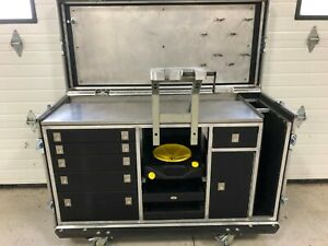 Portable Suspension Work Station Tool Pit Cart