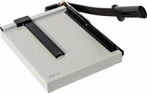 Dahle 12e Vantage Paper Trimmer 12 Cut Length 15 Sheet Automatic Clamp Adjus
