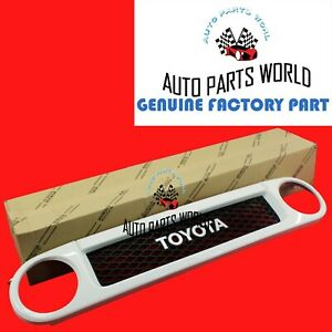 Genuine Oem Toyota Fj Cruiser Ultimate Edition White Front Grille 53100 35b20