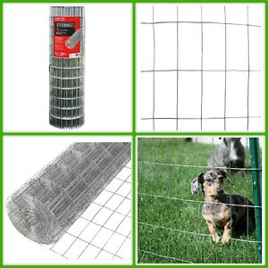 Wire Mesh Fence Steel Welded Rust Proof Zinc Pvc Coated Yard Protection Fencing