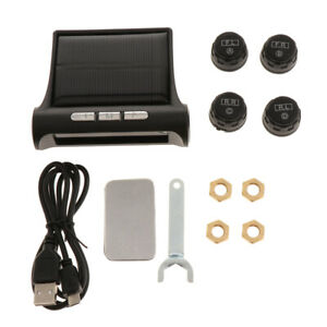 Universal Tpms Tire Pressure Monitoring System With 4 External Sensors