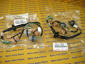 Toyota Supra Tail Light Harness Wires Set Of 2 Genuine Oem New 1997 1998 Jza80