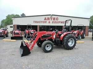 New 2019 Mahindra 3640 Tractor Loader 4x4 Power Shuttle Transmission