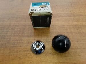 Nos Gm 1967 70 Chevy Chevelle Nova Camaro 3 speed Shift Knob Ball W o Console